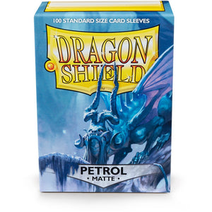 Dragon Shield Sleeves Std Size - Matte Petrol (Box of 100)