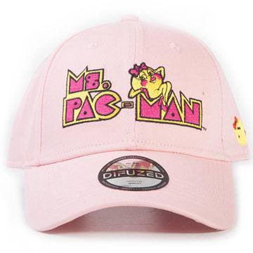 Pac-Man Baseball Cap Ms. Pac-Man