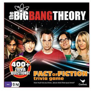 The Big Bang Theory Board Game Trivia Fact or Fiction