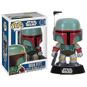 Star Wars POP! Vinyl Bobble-Head Boba Fett 10 cm