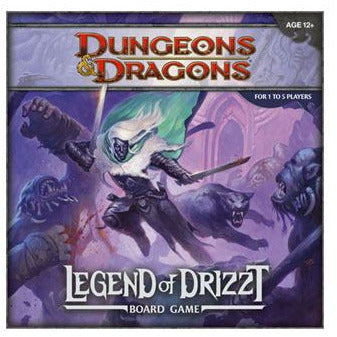 Dungeons & Dragons Board Game The Legend of Drizzt