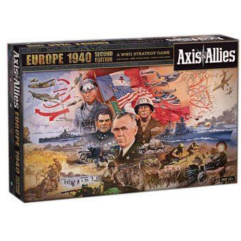 Avalon Hill Board Game Axis & Allies Europe 1940 2nd Edition