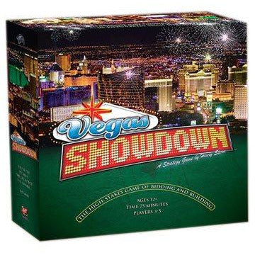 Avalon Hill Board Game Vegas Showdown