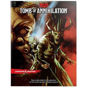 Dungeons & Dragons 5th Edition RPG Adventure Tomb of Annihilation