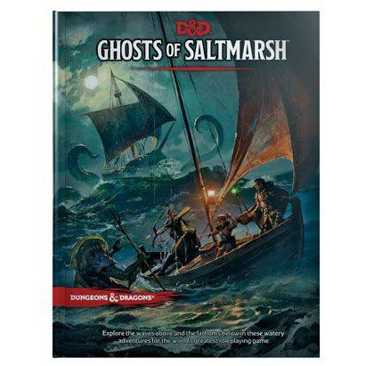 Dungeons & Dragons 5th Edition RPG Adventure Ghosts of Saltmarsh