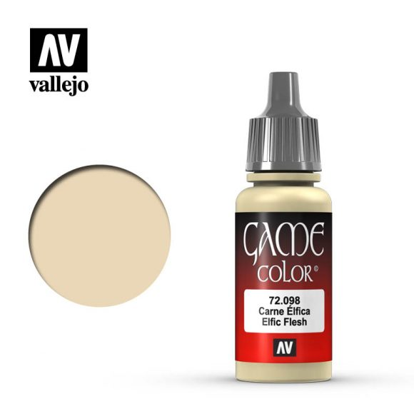 Vallejo 17ml Game Color - Elfic Flesh # 72098