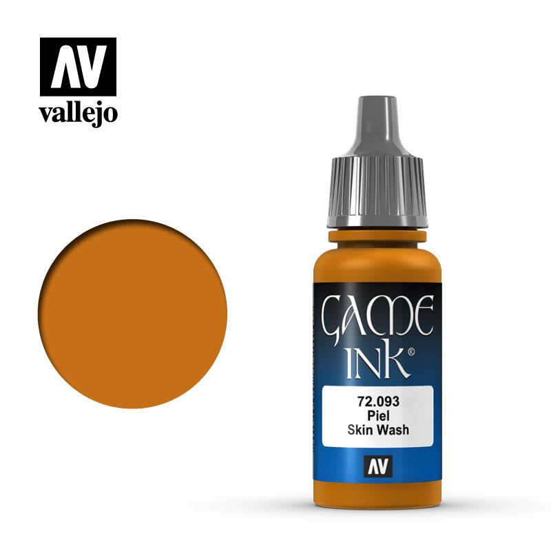Vallejo 17ml Game Ink - Inky Skin Wash Acrylic Paint # 72093