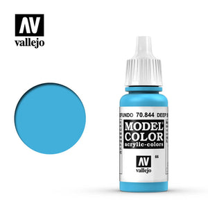 Vallejo 17ml Model Color - Deep Sky Blue # 70844