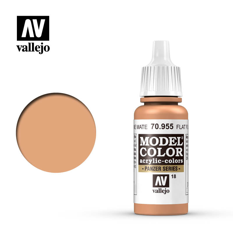 Vallejo 17ml Model Color - Flat Flesh # 70955