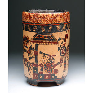Classic Mayan Cylinder Vase