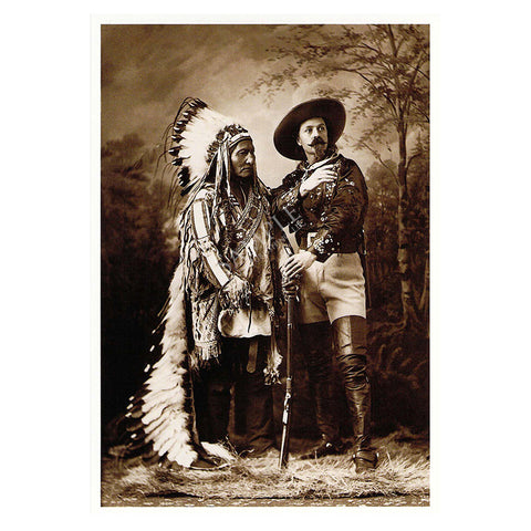 124 Sitting Bull and Buffalo Bill