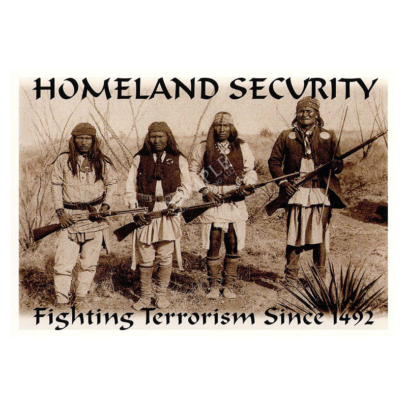 335 Homeland Security (Geronimo's Band)