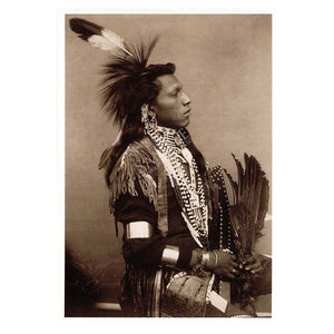 Native american Chief Omaha