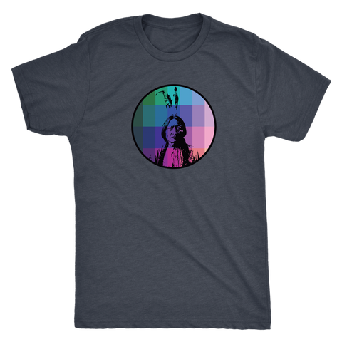 Sitting Bull Rainbow Shirt