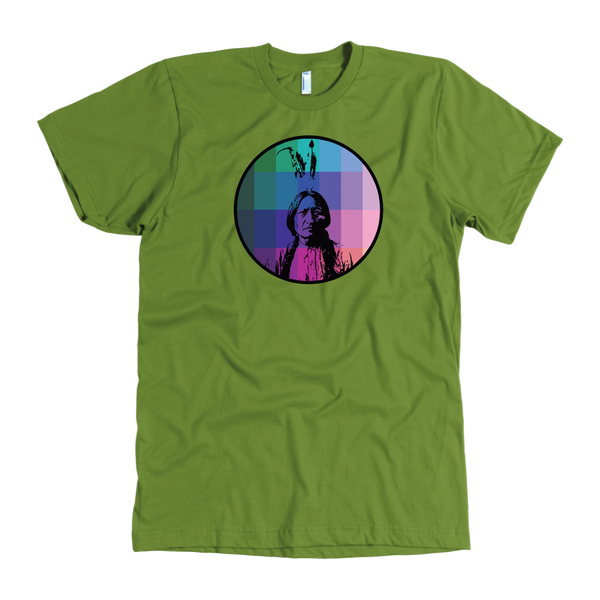Sitting Bull Rainbow - Men's T-Shirt