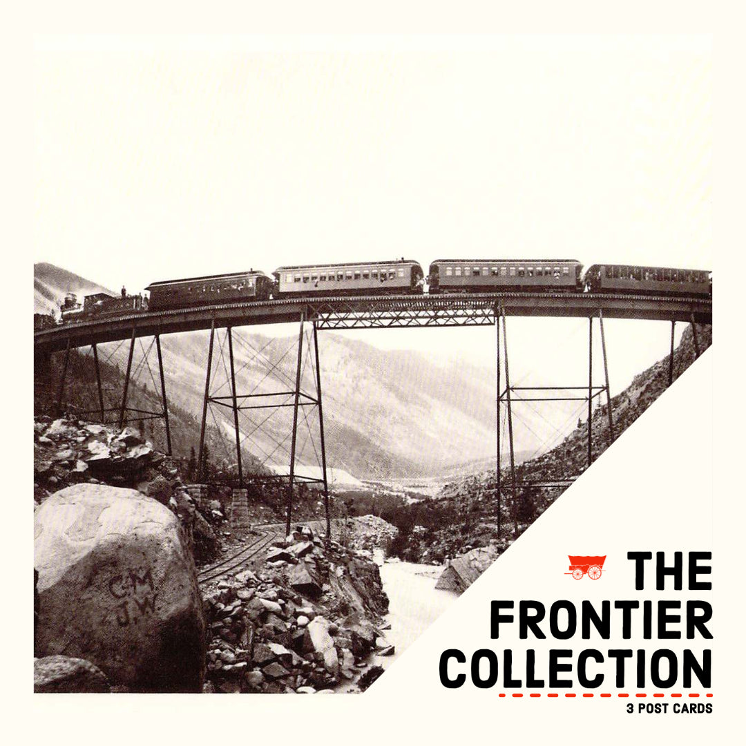 *SET-8 The Frontier Collection - 3 Post Cards