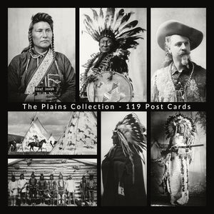 *SET-2 The Plains Collection - 119 Post Cards