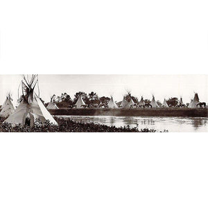 B1 Crow Camp on the Little Bighorn River