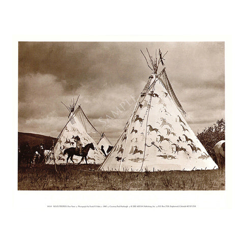 M119 Sioux Teepees
