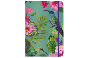 Cedon Notizbuch A5 flower bird