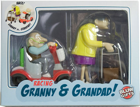 around world - racing granny and grandad