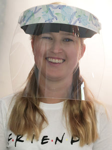 Aufkleber für Safety-Face-Shield