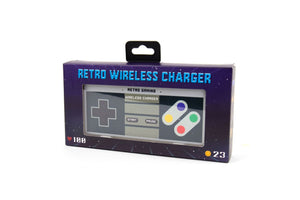around world - retro wireless charger