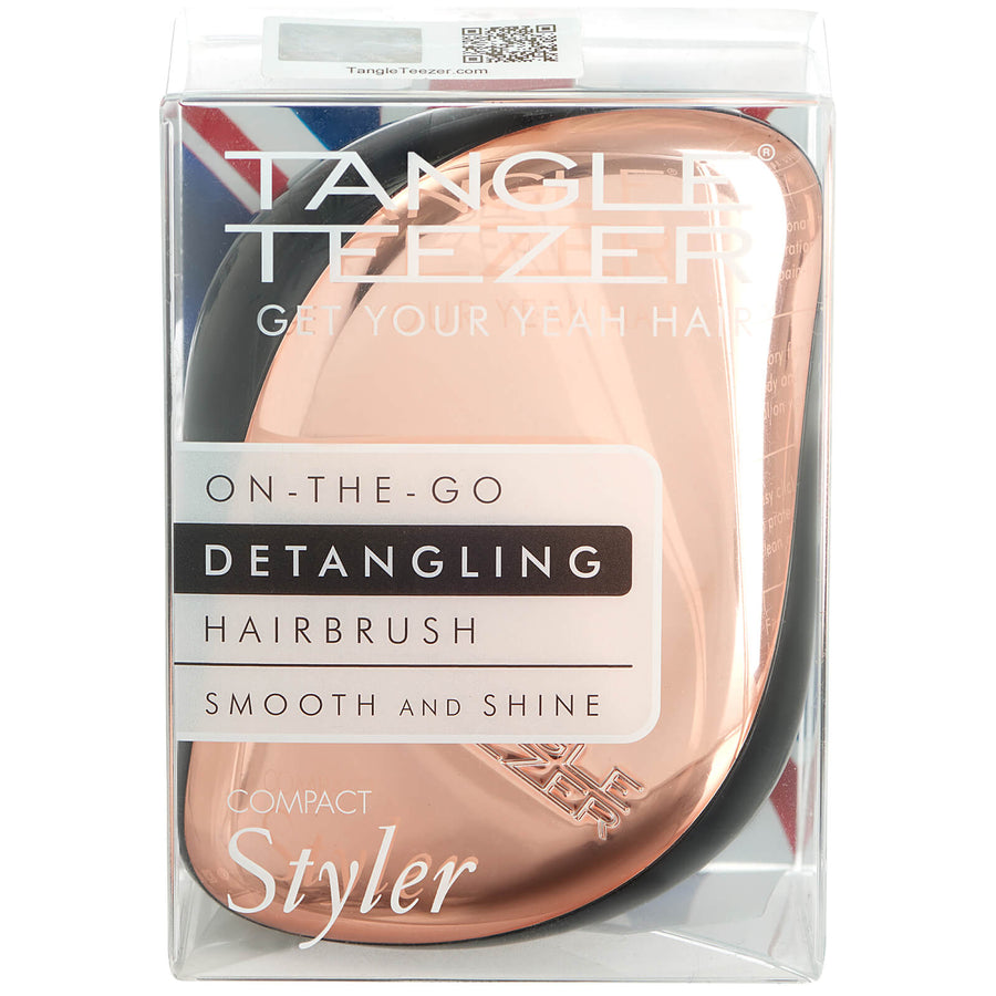 Tangle Teezer -Midnight black + FREE Compact Styler