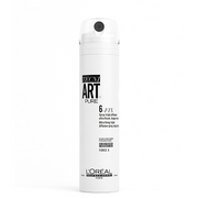 L'Oreal professional Techni Art 6-Fix. A dry mist with 24-hour extreme hold and humidity protection