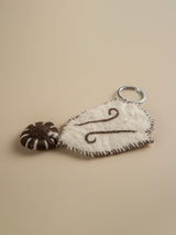 Felt Key Case - Natural fiber | Eco-friendly | Handmade | Friend's gift