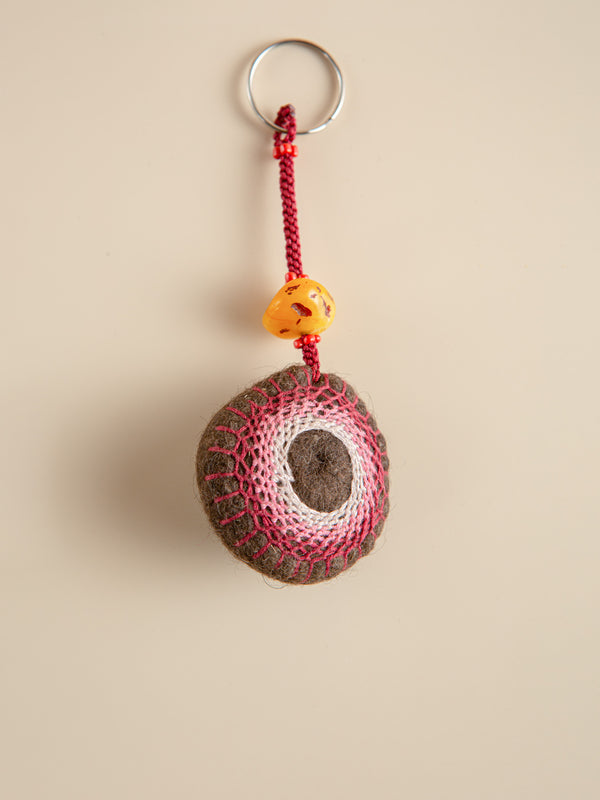 Yak wool ornaments, a perfect match for bags.