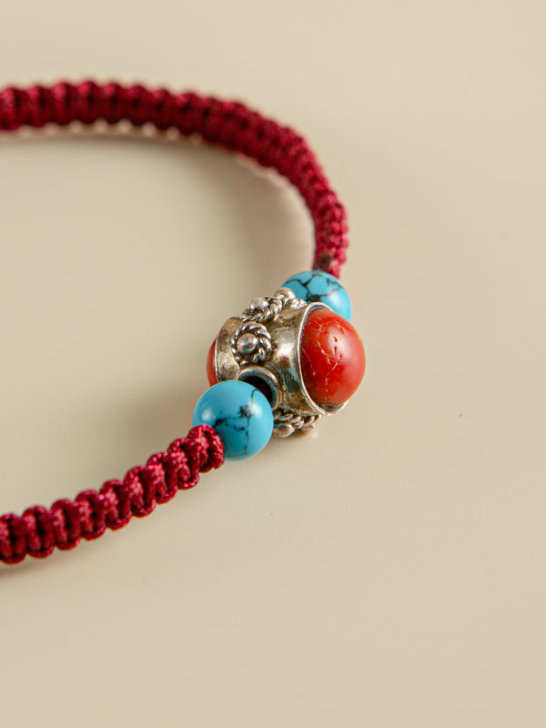 Traditional handmade bracelets, ethnic characteristics, Christmas gifts for friends.