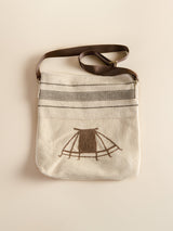 Handmade crossbody bag, Father's Day gift.