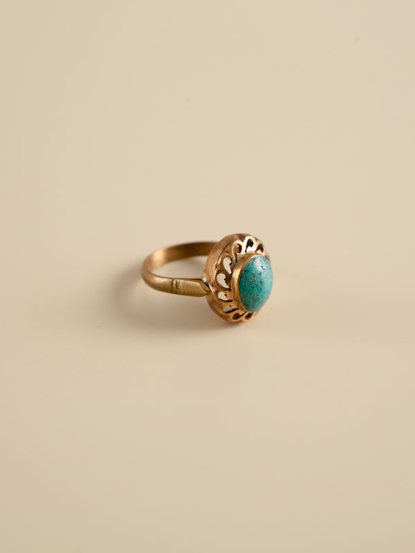 Turquoise Ring Handcrafted