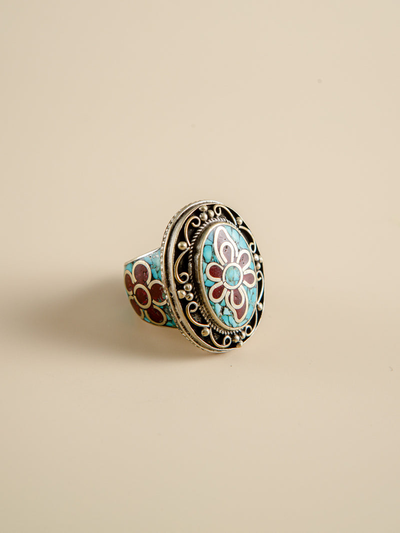 Retro Ring Handcrafted