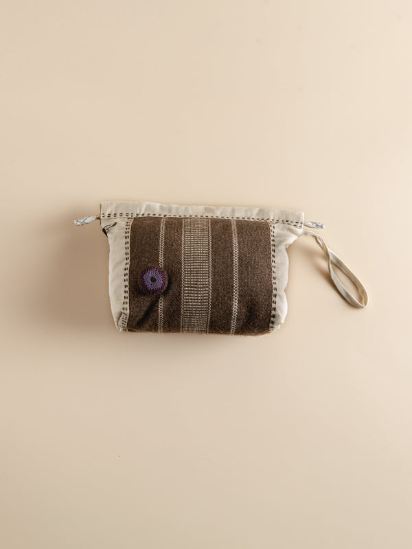 Makeup Bag Handwoven Minimalistic