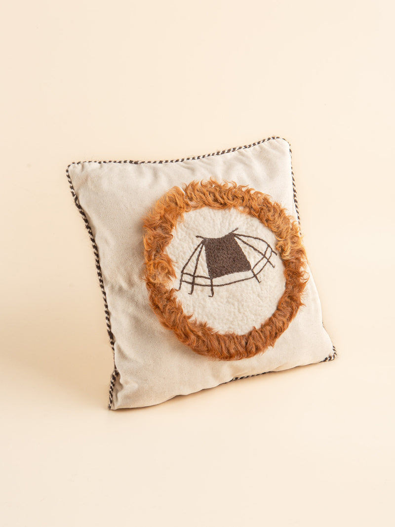 The traditional handmade Lumbar Pillow Case brings a prairie style to your home.