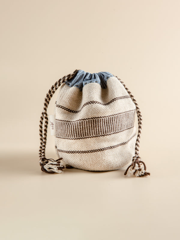 Pouch Storage Bag Natural Fibre