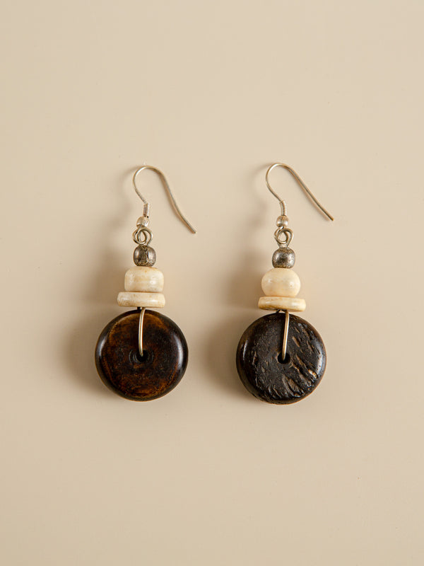 Traditional handmade earrings, ethnic characteristics, bridesmaid gifts for friends.
