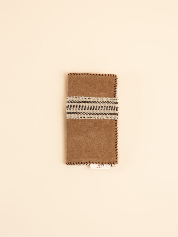 Hand-made Yak-hide wallets, gifts for friends.