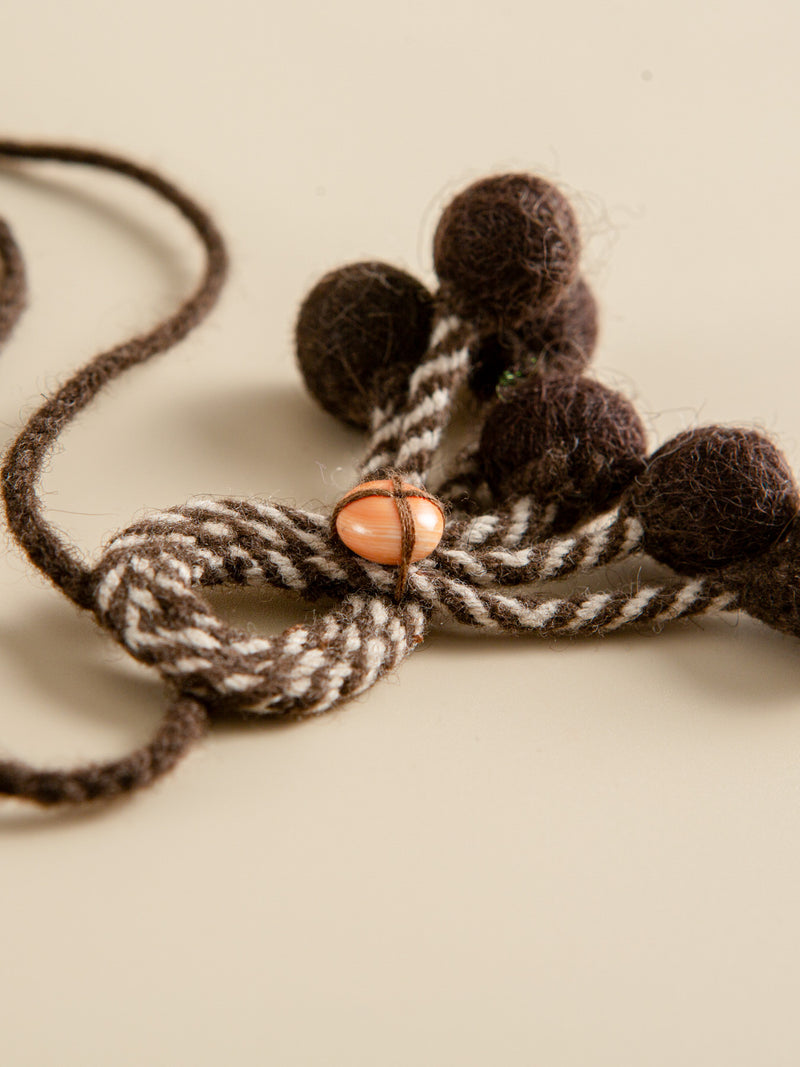 Necklace Natural Fibre Traditional Craft