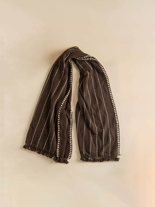 The yak wool shawl, intangible heritage craftsmanship, brings warmth in the cold winter.