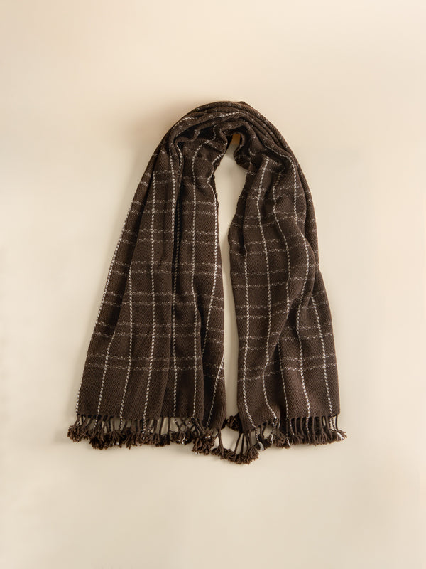 Yak wool shawl, intangible heritage craftsmanship, a romantic gift for lovers.