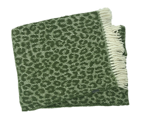 Plaid Menza Felipe Leopardo  - Moss Green