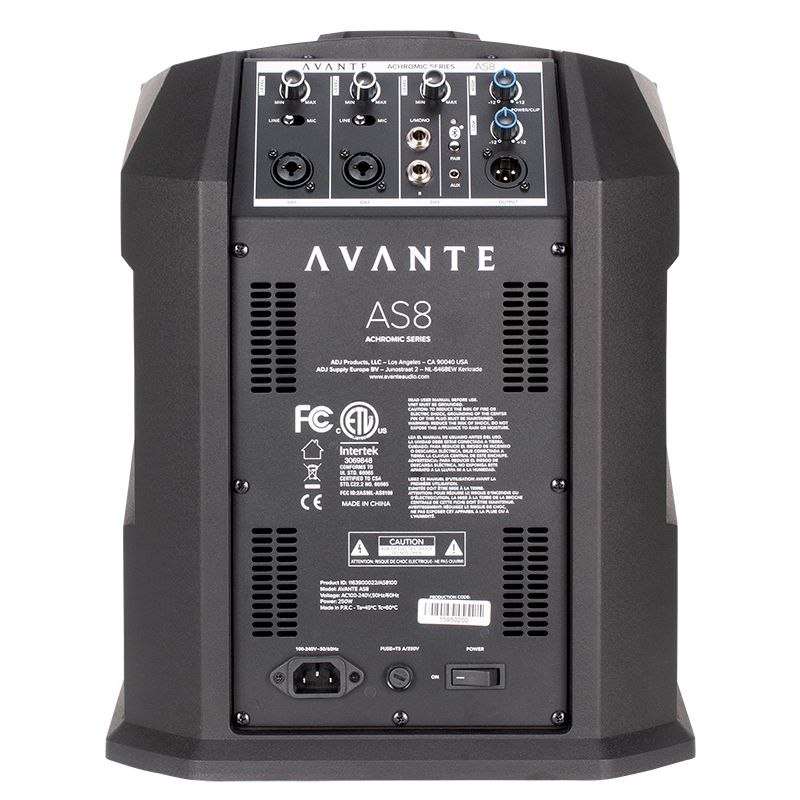 Avante Audio AS8 System