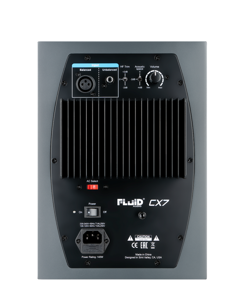 Fluid Audio CX7 BLK LACQ