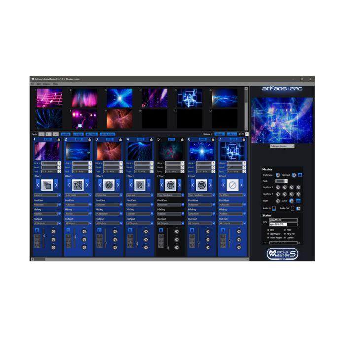 Elation Lighting MEDIA MASTER PRO MED552
