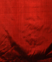 Load image into Gallery viewer, BAARISH Ikat Silk Sari - Deep Red