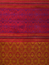 Load image into Gallery viewer, PARVAT Tussar Silk Sari - Berry Blue