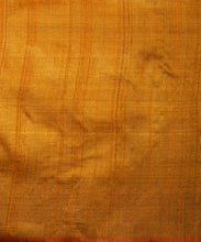 Load image into Gallery viewer, KUMBHA Tussar Silk Sari -  Golden Orange